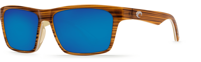Costa Del Mar Hinano Driftwood White/Khaki - Blue Mirror $189.00