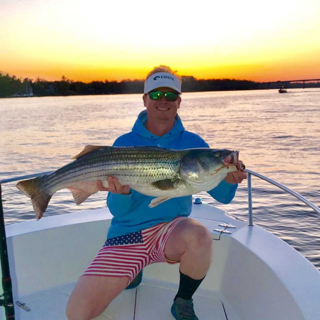 Chesapeake bay fishing report may 4th 2018 anglers for Chesapeake bay bridge fishing report
