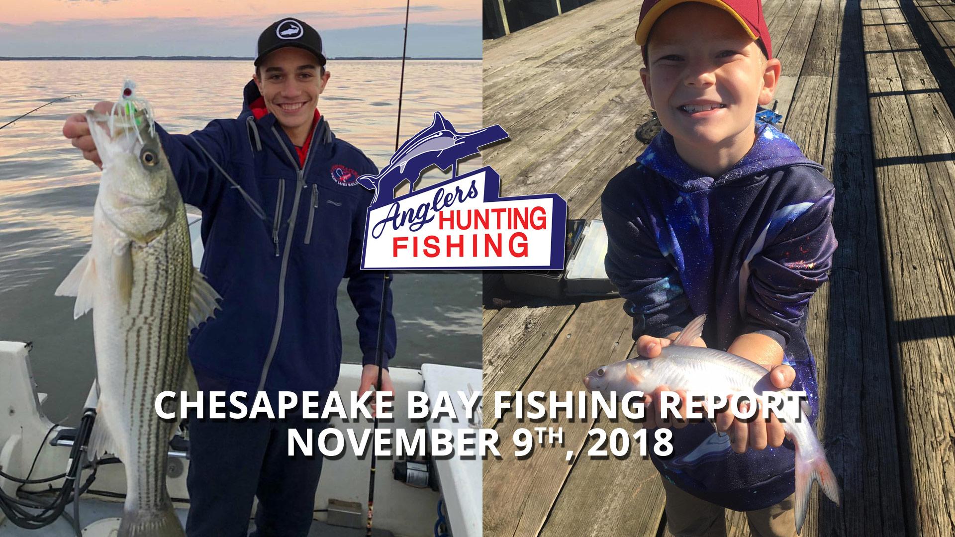 Chesapeake Bay Fishing Report - November 9th, 2018